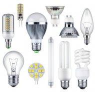 Żarówki cokołowe, Świetlówki i LED