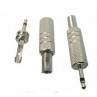 Wtyk JACK 2,5mm mono metal