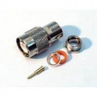 Wtyk TNC (M) CLAMP RG6
