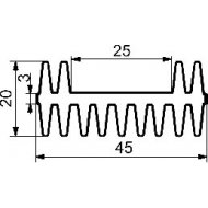 Radiator A5793 L-3cm