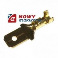 Konektor M 6,3 krótki przewód3mm