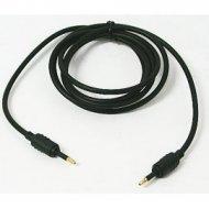 Kabel optyczny J-J 1,5m złoty średnica 3.5mm