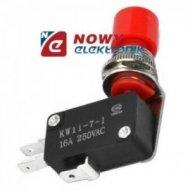 Przycisk 16A 250V + krańcówka DM-VM-00-C chwilowy