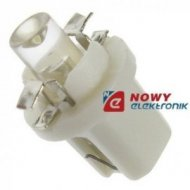 Dioda LED T5W8.5D walcowana biał B8.5D  1led