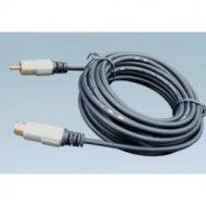 Kabel SVHS-1*RCA 15m DIGITAL złote