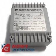 TPZ18 2x110/2*6V Transformator 16006-8993