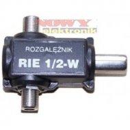 Rozgałęźnik antenowy RIE 1/2W 1 antena 2 telewizory 1xwt. 2xgn F.