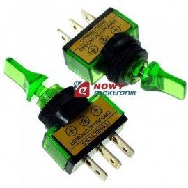 Przełącznik ASW 14D zielony lizak