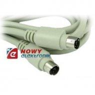 Kabel PS2 wt./wt. 1.8m