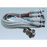Kabel do mon. HDB15M/5*BNC 3m