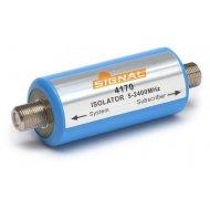 Izolator galwaniczny TRIS-102A (5-2400MHz) TV/SAT zabezpiecz. separator