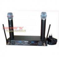 Mikrofon bezprz.LS-87 2-kanały