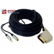 Kabel SCART-SVHS+wt.3.5 10m digi tal blister