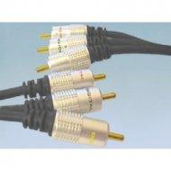 Kabel 3*RCA 1m DIGITAL RGB zł. VITALCO