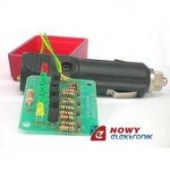 NE524N Strażnik akumulatora5xLED wskaźnik napięcia akumulatora, samochód