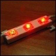 Moduł LED-AL-PCV3R czerwony 12V 20mA