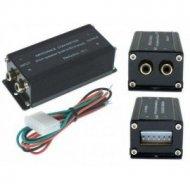 Konwerter poziomu sygn --k.74647 konwerter poziomu audio sam. impedancji