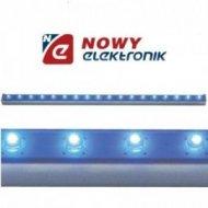 Moduł LED Samoprzyl. Niebieski 30cm 12V / 1.44W  18LED