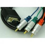 Kabel SVGA-3*RCA RGB 10m