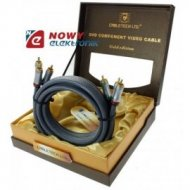 Kabel 3RCA-3RCA 1.8m Cabletech Gold Edition