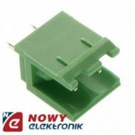 Wtyk HX250V-02 Zielony 2pin pros - TBG-5-PB-2P-GN