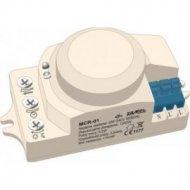 Czujnik ruchu MCR-01 mikrofalowy LED,pod zabudowę  ZAMEL