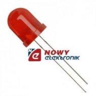 Dioda LED 10mm czerwona