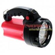 Latarka szperacz LED + Halogen ładowalna, 3 funkcje