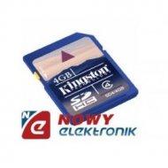 Karta pamięci SDHC 4GB KINGSTON class 4