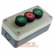 Przełącznik w obud.    SA-LB-339 3przyc ziel+czerw+ziel I/0/II