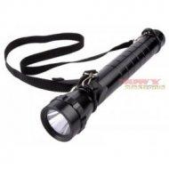 Latarka ręczna VIPOW 3W CREE LED z soczewką 31cm długa