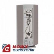 Termometr bezp. WS9750I + zegar DCF/