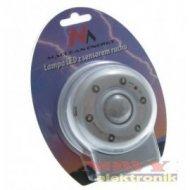 Lampa LED z czujnikiem PIR Macl.
