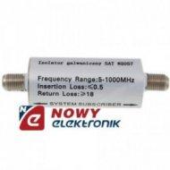 Izolator galwaniczny 5-1000MHz GL-01 TV zabezpieczenie separator