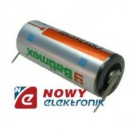 Bateria CR17450BL-VY 3V 2.4Ah 17x45mm blaszki do wlutowania