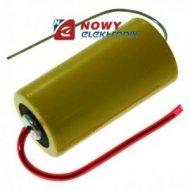 Bateria 3V lit.2/3A CR17335BL-AX z drutami os./1800mAh/17,5mmX33,5mm (BR)