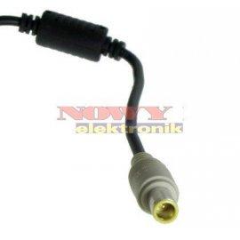 Wtyk DC 5,5/7,9+0,9 z przewodem 1,2m 2p  kabel do laptopa LENOVO