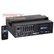 Wzmacniacz PAA03 15WRMS USB/SD radiowęzłowy 100V 4,8,16ΩVELLEMAN
