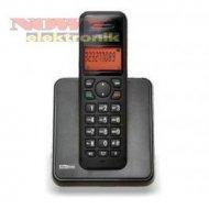 TELEFON MAXCOM MC1550 czarny bezprzewodowy  czarno/srebrny