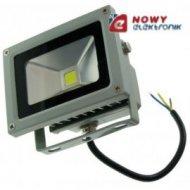 Halogen LED 10W GREY dzienny WD Biały reflektor/naświetlacz