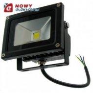 Halogen LED 10W BLACK WDC Biały dzienny reflektor/naświetlacz