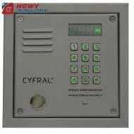 Panel CYFRAL PC-2000D srebrny Dallas, do centrali cyfrowej ,nowy model