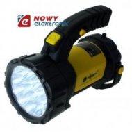 Latarka LED 15LED+12LED SP-208B dolna lampa 12LED,2 lampy(3xR6)