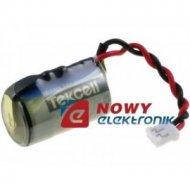 Bateria CR14250VDO 14,3x24,6mm 1/2AA 3,6V 1200mAh wypr.3pin TEKCELL