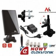 Antena TV MCTV-970 black  DVB-T Maclean wew-zew