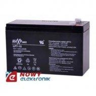 Akumulator 12V-7Ah      MaxPower żelowy