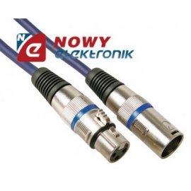 Kabel mikr.10m wtXLR3p gn.XLR3p 10M Professional DMX