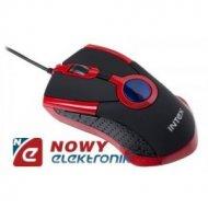 Mysz optyczna INTEX OP98 RED USB