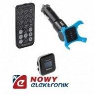Transmiter FM(MP3,RDS,SD-MMC,USB +pilot 4GB pam.(odtwarzacz MP3)