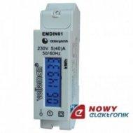 Miernik poboru energii 1-faz EMD licz.elektr.VELLEMAN Watomierz